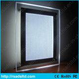 Sinal de cristal da caixa leve de indicador de diodo emissor de luz para anunciar