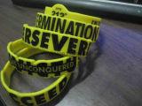 Logo personnalisé personnalisé bracelet en silicone pour cadeau de promotion