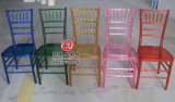 Venta caliente usada alquiler de la silla de Chiavari de la resina de la silla