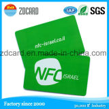 Frankierte rote NFC Karte des intelligenten Ziel-