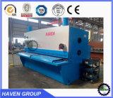 QC12K Máquina de cisalhamento de feixe hidráulico CNC econômica