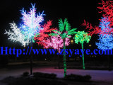 Yaye de la venta caliente de la venta alta buena Ce & RoHS de la alta calidad de la aprobación impermeable IP65 RGB LED del árbol con la garantía 2 años