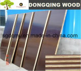 Marrón filmado 20mm madera contrachapada de concreto con núcleo de álamo