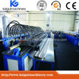 Steel Light Keel Plate Roll Forming Machine, Steel Tracks Light Keel Hat Section Cold Roll Forming Line