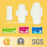 Wings를 가진 245mm Normal Ultra Thin Anion Sanitary Napkins Pads