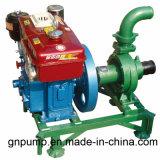Bomba de água Diesel agricultural portátil 3 polegadas
