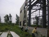 Taller prefabricado de la estructura de acero del edificio