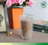 Doppel-wandiges Glass Cup für Coffee