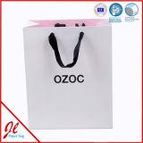 卸し売りカスタムペーパーショッピング・バッグ、小さい紙袋、ギフトの紙袋、光沢のある買物袋