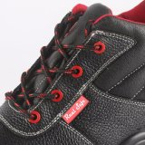 Middle Cut Leather Shoes Steel Toe Safety Boots RS6136