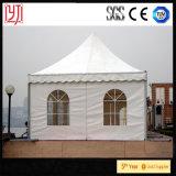 tentes Arabes de pyramide de pagoda de dessus du toit 5X5 faites de couverture enduite par PVC d'aluminium pour l'événement extérieur