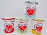 Отличное качество китайского дизайна керамические кружки в День Святого Валентина подарок