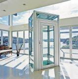 Villa économique ascenseur panoramique de visites à domicile avec un verre de l'élévateur