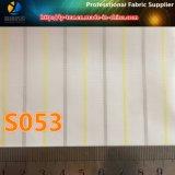 Polyester-Hülsen-Futter-Streifen-Gewebe für Kleid (S53.54)