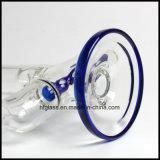 Hfy 유리는 Illadelph 11.5 인치 파란 인라인 Perc 공장 연기가 나는 수관을 도매한다