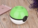 Multi-Function Colorful Power Bank Bluetooth Music Box Poke Ball para celular