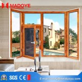 Hurricane Impact Resistance Double Tressed Glazing Aluminum Casement Window