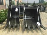 Cubeta de lama da inclinação da máquina escavadora, cubeta limpa da máquina escavadora