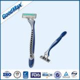 Caja de seguridad profesional cómodo largo mango para maquinillas de afeitar