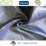 Fornitore della Cina del tessuto del rivestimento del jacquard del vestito degli uomini della viscosa del poliestere 45% di 55%