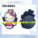 Lovely Cartoon Hello Kitty Patch de borracha para sapato Tamancos Charm Decoration