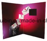 Personalizado 2,4 pulgadas TFT LCD de promoción de tarjetas de felicitación de vídeo (VC-024)