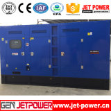 330kw無声防音のディーゼル発電機のディーゼル機関の発電機