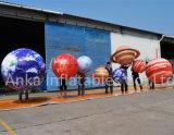 훈장을%s 인쇄된 PVC 풍선 가격 팽창식 거는 행성 풍선