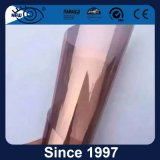 UV Block 2 Ply Película de ventana de titanio negro reflectante baja