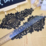 Lacet neuf de fleur de garniture de broderie de largeur de la vente en gros 10cm d'action d'usine de modèle pour la décoration de vêtements et les textiles et l'accessoire à la maison de rideaux (BS1040)