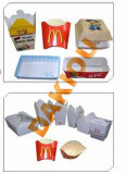 Prix de boîte à hamburger de machine à emballer de cadre de carton