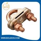 連接棒および平らなテープクリップのための銅Uクランプ