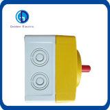 Interruptor del aislador del interruptor rotatorio 415VAC 4 poste de la CA