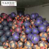 Bola suave de la pared de la PU del golpe de la medicina del peso del ejercicio del equipo de la aptitud de Crossfit