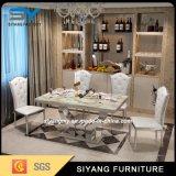 Chaise de salle à manger Meubles Table en marbre Table et chaise de salle à manger