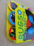 Impression de carton pour enfants Carte de bébé Carte de carte de livre Impression de livre couleur