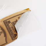 優秀な品質の金ホイルのペーパーカスタムビニールガラスのステッカー