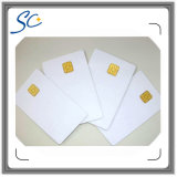 Cartão de IC de contato de PVC de padrão de segurança de tamanho padrão
