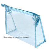 Promoção Custom Transparent Wash Clear Zipper PVC Makeup / Cosmetic Bag
