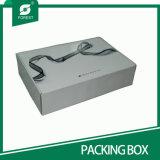 Las cajas de zapato superior de la venta corrugado negros con impresión personalizada