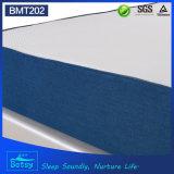 OEM comprimido de gel de memoria colchón de espuma de 25 cm de alto con tela de punto desmontable cremallera de la cubierta