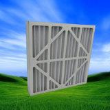 Painel de papelão Painel plissado Filtro de ar prévio