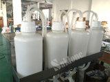 Halfautomatische Vacuüm het Vullen Machine en de Machine van de Verpakking voor Water