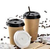 Zoll-trinkendes Tee-Milch-Wegwerfkaffee-Papiercup mit Kappe