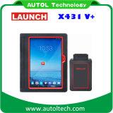 Nuevo lanzamiento original del lanzamiento X431 V + Wi-Fi / Bluetooth escáner Global versión completa del sistema basados en Android lanzamiento X431 del explorador de diagnóstico + V Sistema