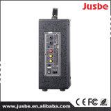 Jusbe 100Wのbluetooth Ubsポートが付いている携帯用エムピー・スリーFM DJの無線の演劇電池の引きの棒のスピーカーの健全なトロリー実行中のスピーカー