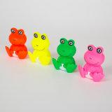 Reizendes Frosch-Form-Hundevinylspielzeug-Haustier-quietschendes Spielzeug