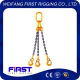 G80 стальная цепь строп с тремя ногами