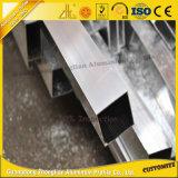 Revêtement en poudre Tube carré en aluminium/tuyau avec les tailles personnalisées