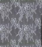 Tejido de encaje florido para camisones de traje de cuerpo de lencería de lujo de señora